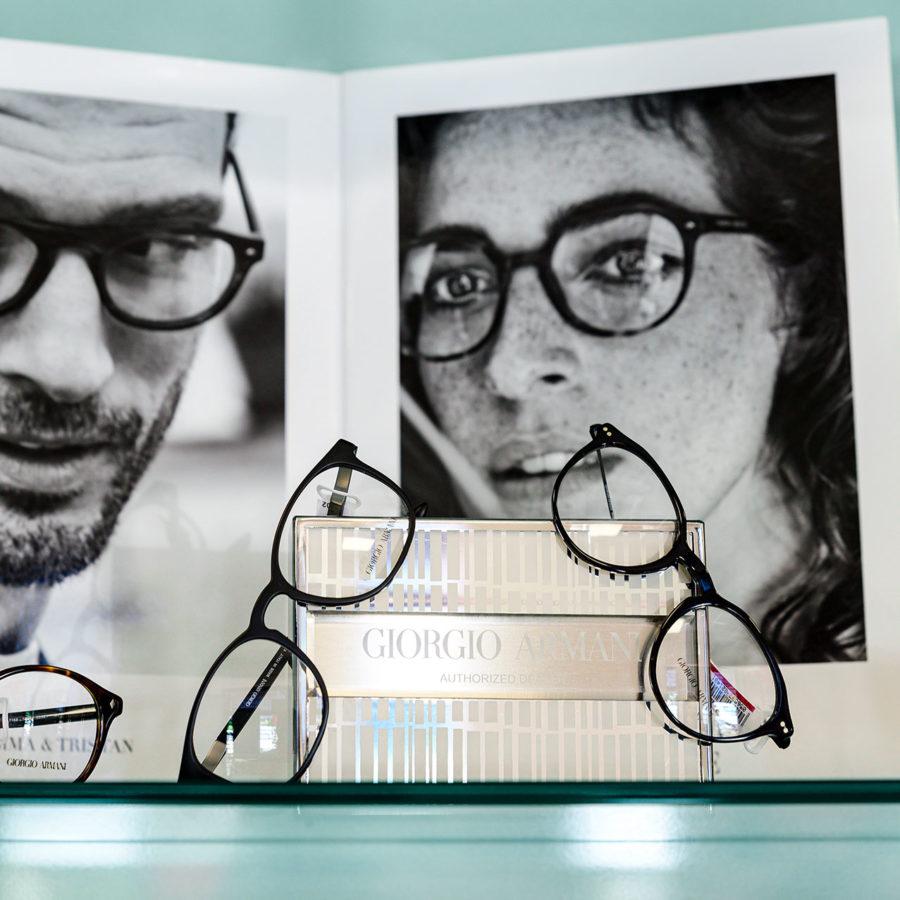 occhiali vista Giorgio Armani moda Ottica Micaglio
